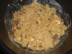 Сырная запеканка с макаронами в мультиварке
