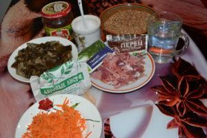 Гречка с мясом и грибами в мультиварке.