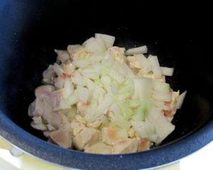 Суп с макаронными изделиями «звёздочки» в мультиварке.